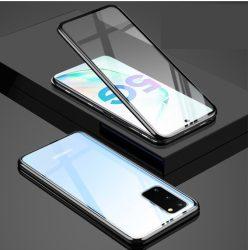 Samsung Galaxy S20 plus mágneses tok elöl hátul üveggel