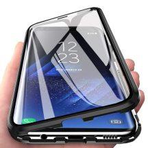 Samsung Galaxy S20 ultra mágneses tok elöl hátul üveggel