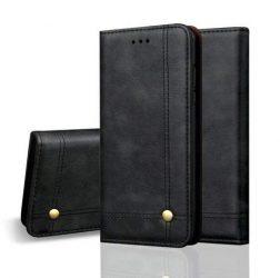 Huawei P40 lite kártyatartós flip bőrtok
