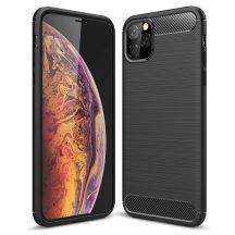 iPhone 12 mini karbonmintás tok + üvegfólia