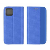 Sensitive Book kék iPhone 12 mini kártyatartós flip tok