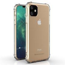 Armor iPhone 12 mini ütésálló, átlátszó tok + üvegfólia