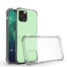 Armor iPhone 12 / 12 Pro ütésálló, átlátszó tok + üvegfólia