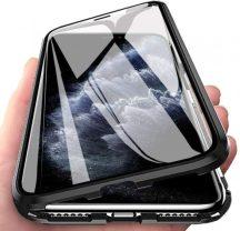iPhone 12 mini átlátszó mágneses tok mindkét oldalt üveggel
