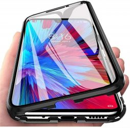 Samsung Galaxy S21 mágneses tok elöl hátul üveg