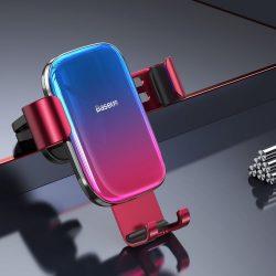 Baseus Glaze kék-vörös autós telefontartó