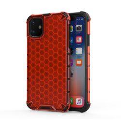 Piros iPhone 11 ütésálló tok