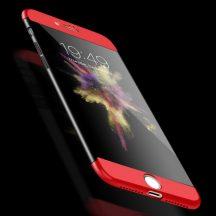 iPhone SE 2020 360°-os red-black tok + üvegfólia