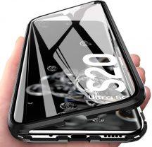 Samsung Galaxy S20 mágneses tok elöl hátul üveg
