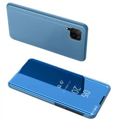 Kék Huawei P40 lite clear view tok
