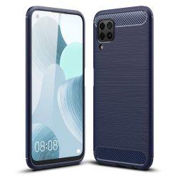 Elegáns, kék Huawei P40 lite + üvegfólia