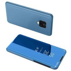 Kék Xiaomi Redmi Note 9 Pro clear view tok