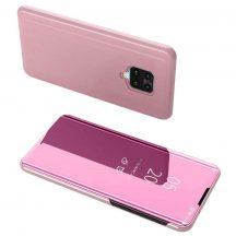 Pink Xiaomi Redmi Note 9 clear view tok