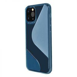Huawei P40 lite kék, ütésálló tok S kivitel +üvegfólia