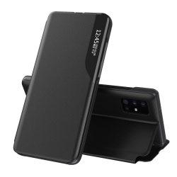 Samsung Galaxy S20 fekete bőr okostok