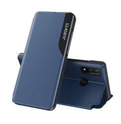 Huawei P30 lite kék bőr okostok