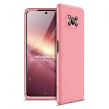 Pink 360 fokos Xiaomi Poco X3 NFC tok üvegfóliával
