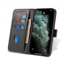 Xiaomi Redmi Note 9 fekete, elegáns kinyithatós tok