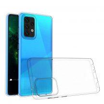 Samsung Galaxy A72 átlátszó tok +üvegfólia