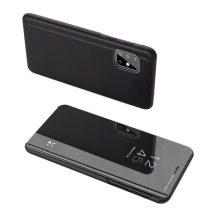 Samsung Galaxy A72 fekete clear view tok
