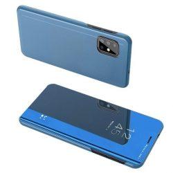 Samsung Galaxy A72 kék clear view tok