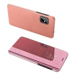 Pink Samsung Galaxy A72 clear view tok