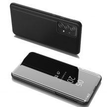 Samsung Galaxy A52 fekete clear view tok