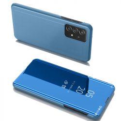 Samsung Galaxy A52 kék clear view tok