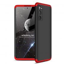 Red-black Samsung Galaxy S20 FE 360 tok +üvegfólia