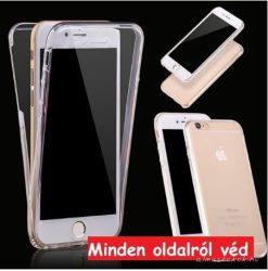 iPhone 7 / 8 átlátszó, 360 fokos tok