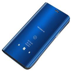 Kék Samsung Galaxy S20 ultra clear view tok