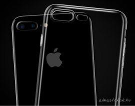 Átlátszó, vékony TPU iPhone 6 plus / 6S plus tok