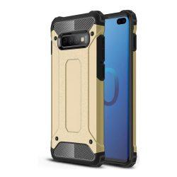 Arany Samsung Galaxy S10 plus ütésálló tok