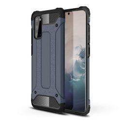 Armor, kék Samsung Galaxy S20 ütésálló tok