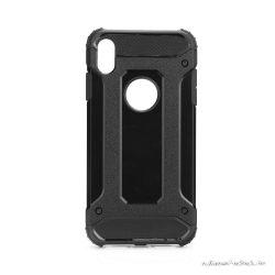 Fekete Armor iPhone XS Max ütésálló, porálló tok