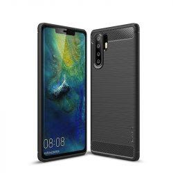 Karbonmintás Huawei P30 tok
