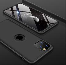 iPhone 11 pro 360°-os fekete prémium tok