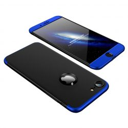 iPhone 7 / 8 360°-os blue-black tok+üvegfólia