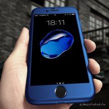 iPhone 7 / 8 360°-os navy kék, matt tok