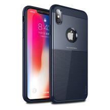 iPaky Shield kék iPhone XS Max tok kameravédelemmel