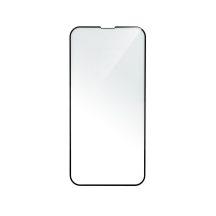 iPhone XR / 11 ívelt, erős üvegfólia fekete kerettel