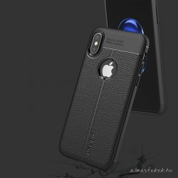 iPhone XS Max elegáns, fekete tok
