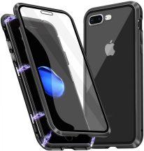 iPhone 7 plus / 8 plus mágneses tok mindkét oldalt üveggel