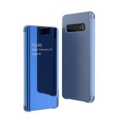 Samsung Galaxy S10e kék clear view tok