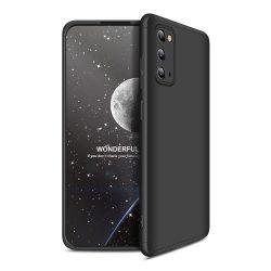 Fekete Samsung Galaxy S20 360 tok +3D kijelzővédő fólia