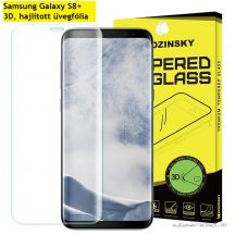 Samsung Galaxy S8+ 3D, hajlított üvegfólia