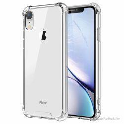Ütésálló iPhone XR átlátszó tok