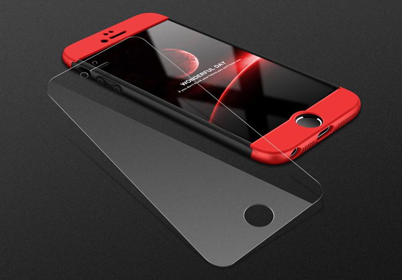 piros-fekete iphone tok