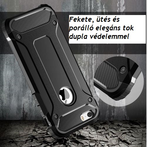 utesallo fekete armor iphone tok