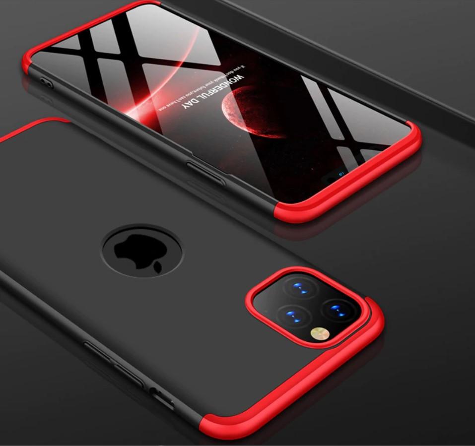 iphone 11 pro piros fekete tok